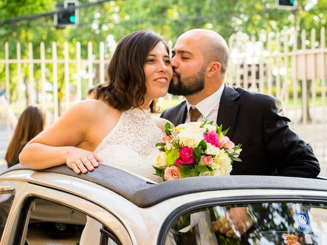El matrimonio de Carolina y Claudio