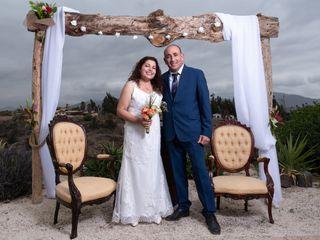 El matrimonio de Rose y Jorge