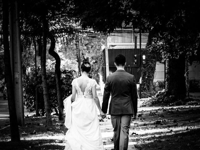 El matrimonio de Cristóbal y Natalia en Providencia, Santiago 9