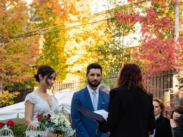 El matrimonio de Cristóbal y Natalia en Providencia, Santiago 13