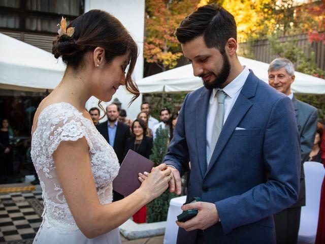 El matrimonio de Cristóbal y Natalia en Providencia, Santiago 19