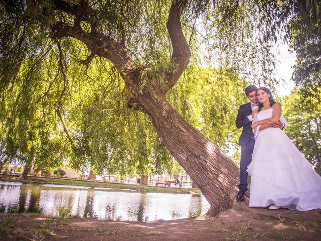 El matrimonio de Leticia y Roger