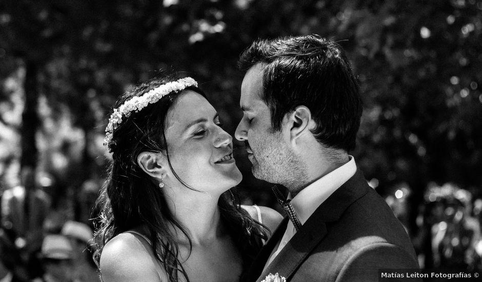 El matrimonio de Juan Pablo y Carolina en San Esteban, Los Andes