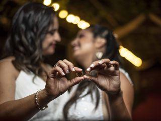El matrimonio de Daniela y Macarena