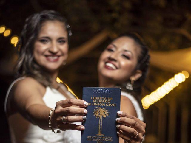 El matrimonio de Macarena y Daniela en Maipú, Santiago 1