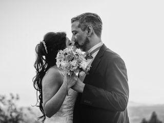 El matrimonio de Gerthy y Rodrigo