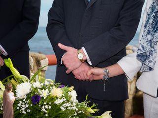 El matrimonio de Isabel Margarita  y Sergio 1