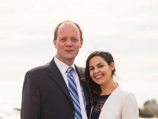 El matrimonio de Isabel Margarita  y Sergio