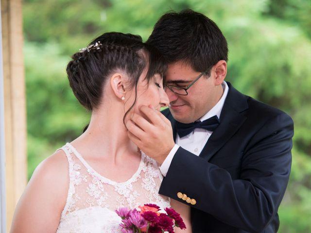 El matrimonio de Ignacia y Alexander