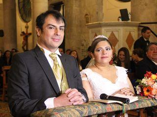 El matrimonio de Gina y Adolfo