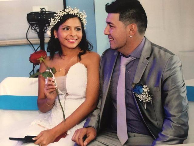 El matrimonio de Nathaly y Francisco