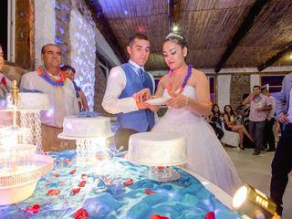 El matrimonio de Giannina y Alvaro