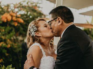 El matrimonio de Isabel y Omar