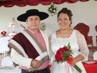El matrimonio de Berny y Abel