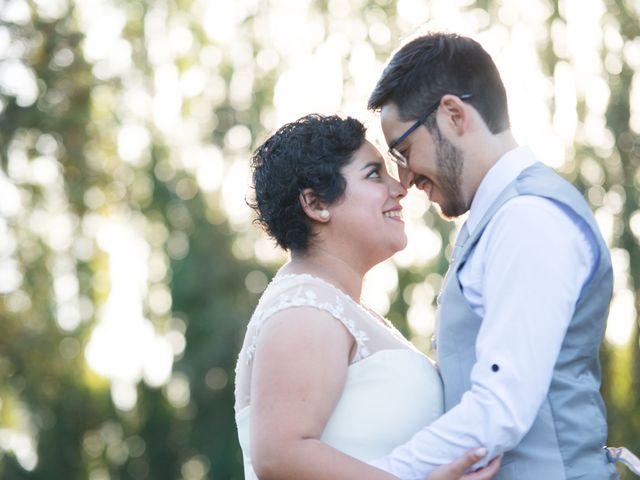 El matrimonio de Verónica y Diego