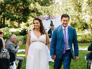 El matrimonio de Claudio y Natalia