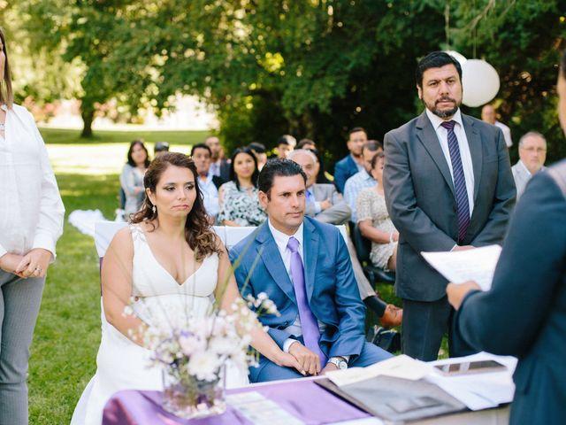 El matrimonio de Natalia y Claudio en Padre las Casas, Cautín 25