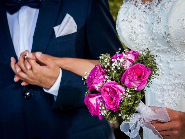 El matrimonio de Fernando y Cecilia en Providencia, Santiago 2