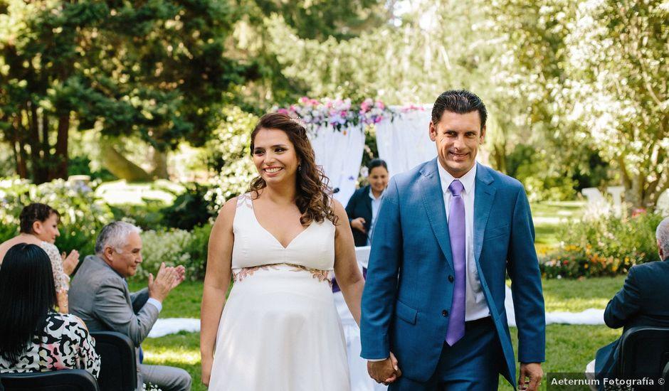 El matrimonio de Natalia y Claudio en Padre las Casas, Cautín