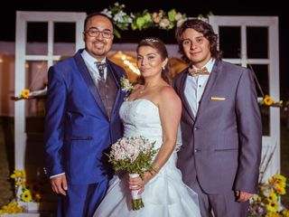 El matrimonio de Johanna  y Ricardo  1
