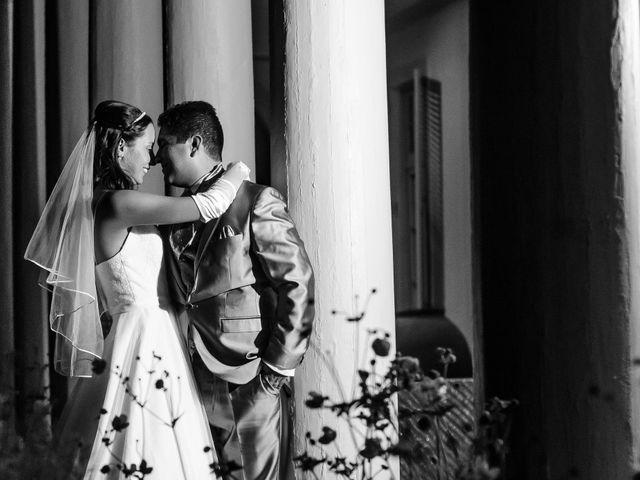 El matrimonio de Marta y Diego