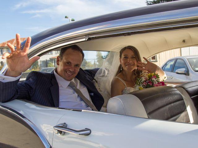 El matrimonio de Carolina y Ricardo