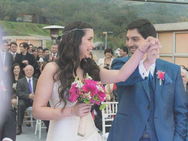 El matrimonio de Carolina y Cristobal