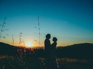 El matrimonio de Paola y Abraham