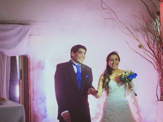 El matrimonio de Sandra y Luis