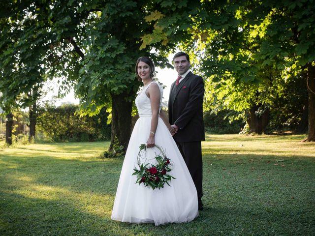 El matrimonio de Evelyn y Gonzalo
