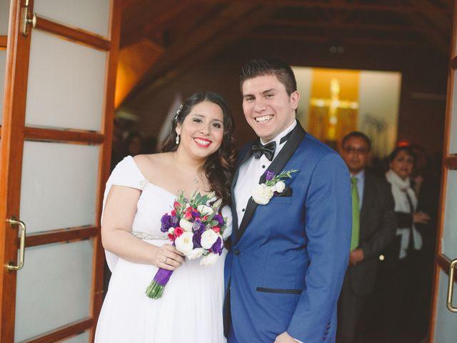 El matrimonio de Javiera y Danilo