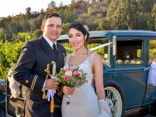 El matrimonio de Solange y Gabriel