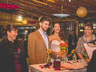 El matrimonio de Michelle y Leo
