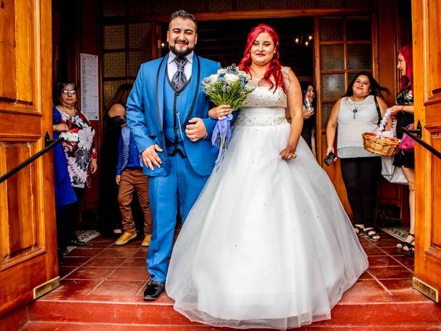 El matrimonio de Macarena y Gonzalo