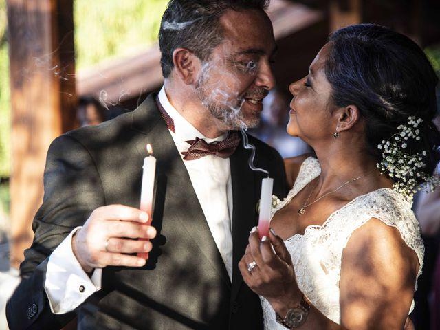 El matrimonio de Elcy y Fernando