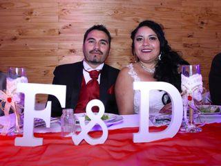 El matrimonio de Daniela  y Francisco