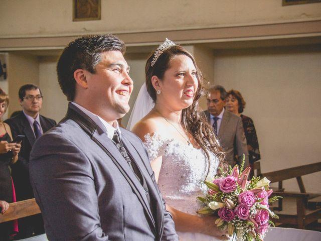 El matrimonio de Carolina y Israel