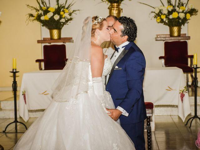 El matrimonio de Vanessa y Victor