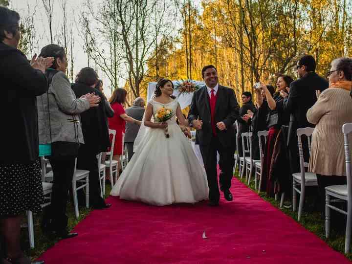 El matrimonio de Jessica  y Marcelo