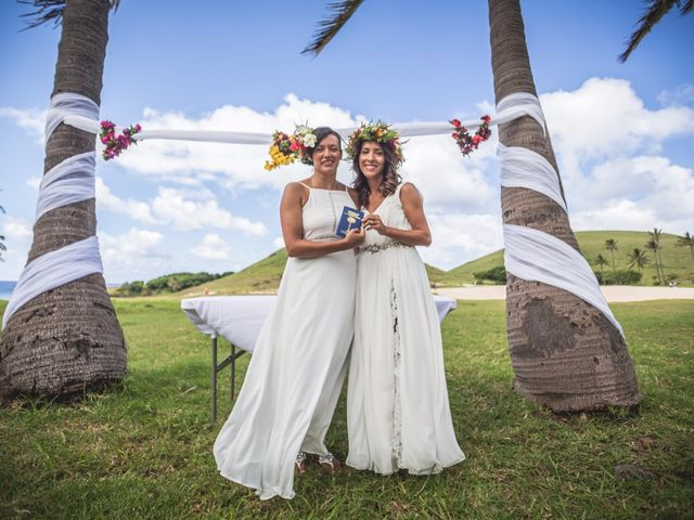 El matrimonio de Consuelo y Pabla