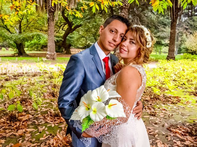El matrimonio de Consuelo y José