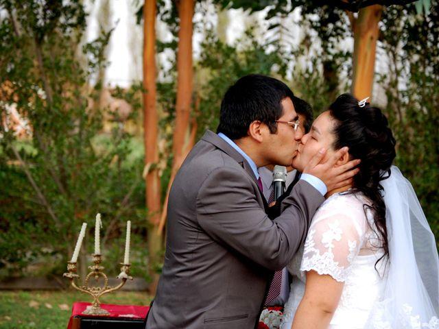 El matrimonio de Ángela y Raúl