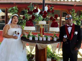 El matrimonio de Leslie  y Marcos