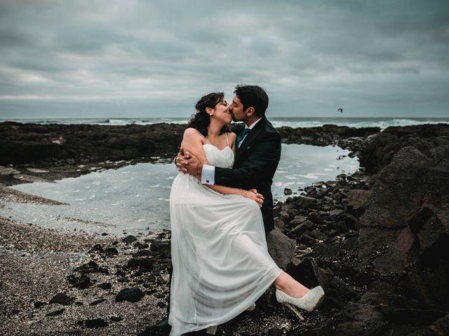 El matrimonio de Claudia y Jonathan
