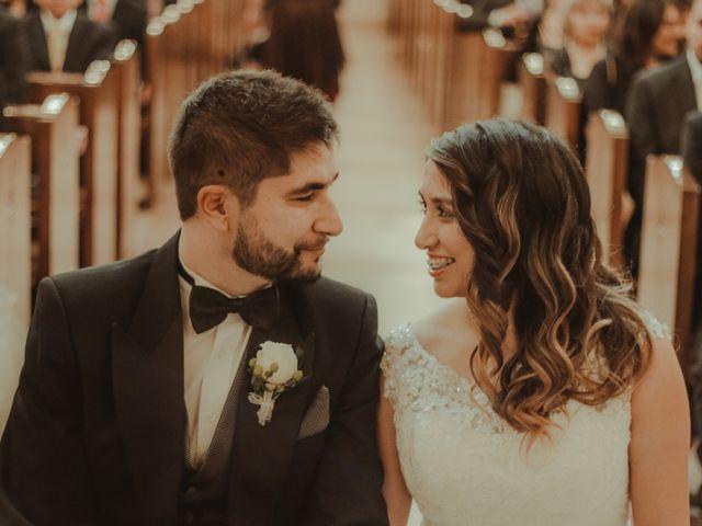 El matrimonio de Yasna y Rodrigo
