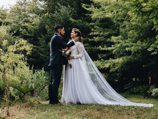 El matrimonio de Claudia y Alvaro