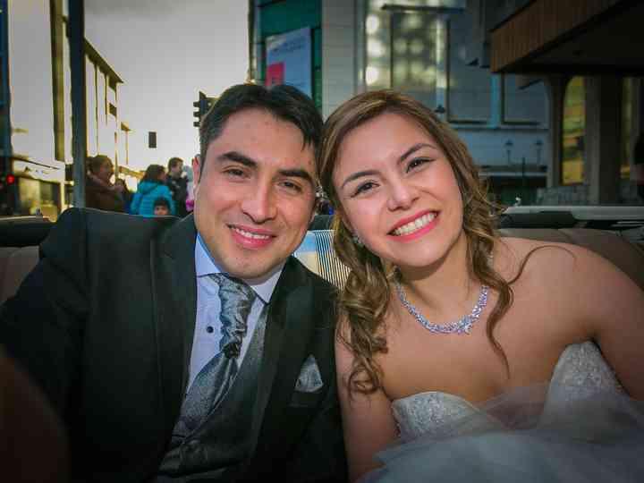 El matrimonio de Patricia y Rodolfo