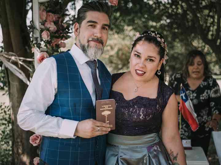 El matrimonio de Verónica y Rodrigo