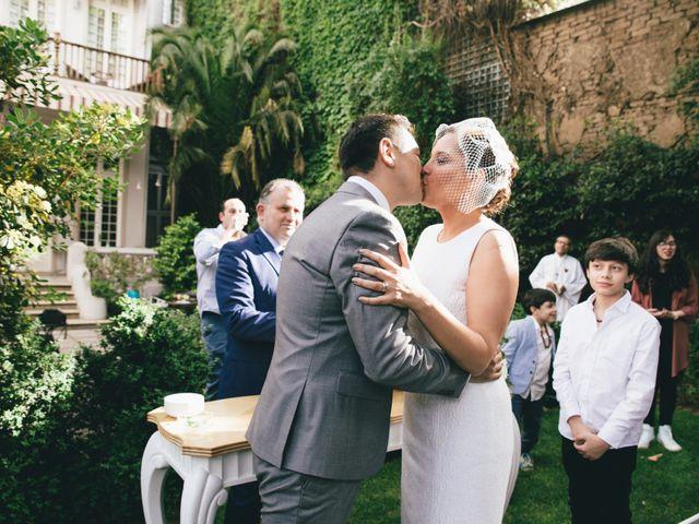 El matrimonio de Khaterin y Rodrigo