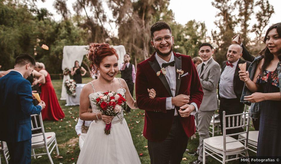 El matrimonio de Manu y Mely en Peñaflor, Talagante